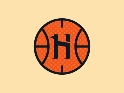 LA Hounds - Secondary Logo basketball logo design vector sports type logo
