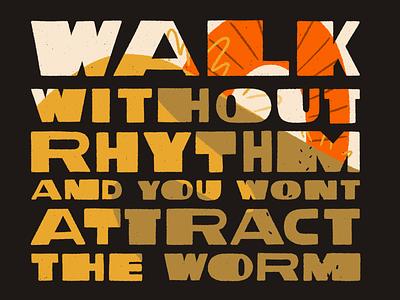 Fear Is The Mindkiller desert procreate retro illustration dune