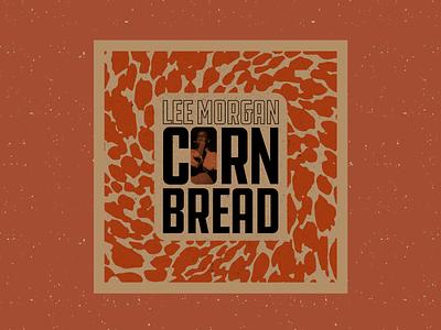 Cornbread – Lee Morgan album cover record cover music jazz design vintage procreate retro illustration