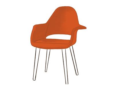Eero Saarinen Conversation Chair