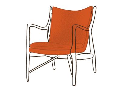 45 Chair, Finn Juhl