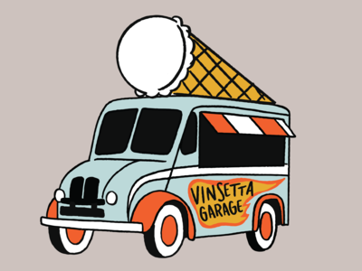 Retro Ice Cream Truck