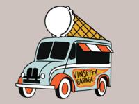 Retro Ice Cream Truck