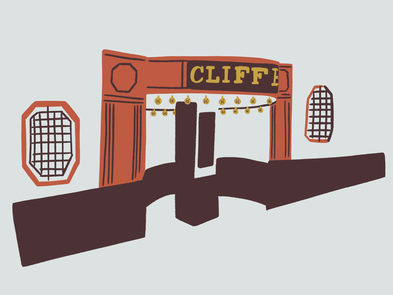 Cliff Bells sketch cliff bells detroit jazz