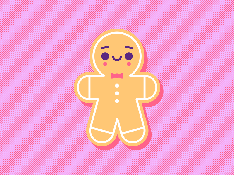 Gingerbread man jengibre ginger galleta cookie gingerbread man ilustración illustration