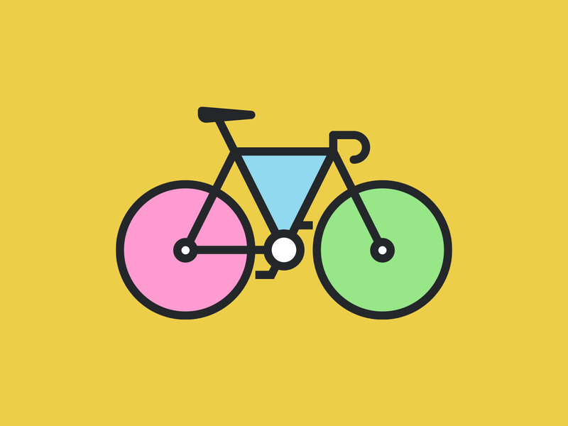 Bici ilustración illustration bicycle bicicleta bici bike