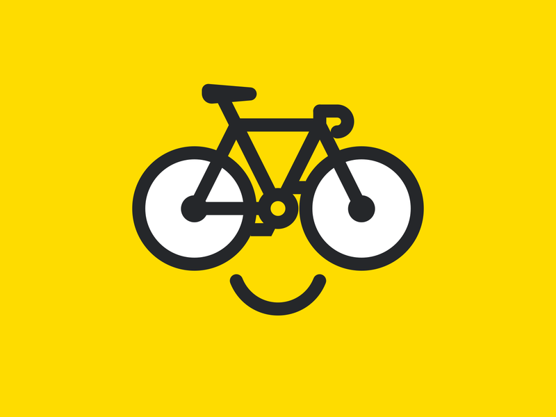 Smiley bike :) bicicleta bici bicycle bike smiley face smiley