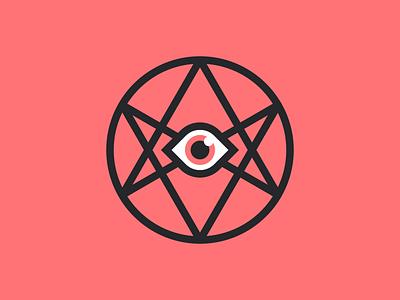 Thelema ojo eye ocultismo occultism simbolo symbol unicursal mr crowley aleister crowley hexagrama hexagram thelema