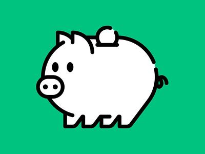 Piggy Bank cerdo piggy pig piggy bank