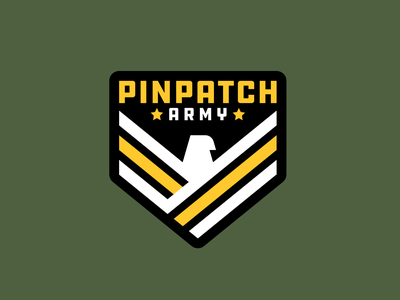 PinPatch Army armada army militar military pin parche patch badge aguila eagle