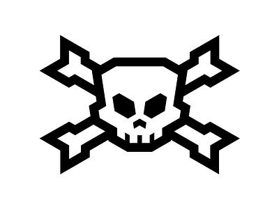 AK47 Skull & Bones logo bones skull ak47