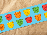 Gummy Basterds Packing Tape