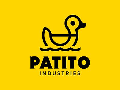 Patito Industries logo pato de hule pato rubber duck duck