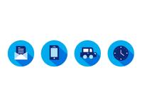 Icons for Clinicas Alvarenga