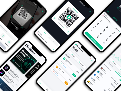 Bitcoin.com Wallet App mobile app ui design