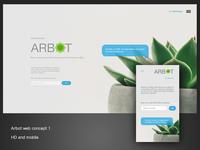 Arbot landing concept