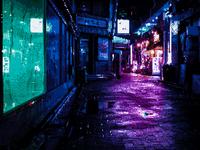 Neon Tokyo Pixel Art