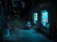 Hologram vending machines