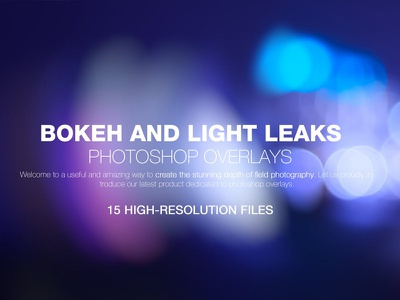 Bokeh & Light Leaks Backgrounds frimy flare filthy elements burn bokeh blured blur blue backgrounds background abstract