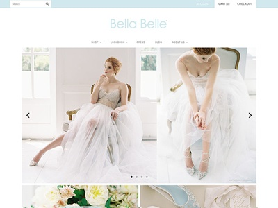 Bella Belle wedding wedding shoes shoes sandals bridal fashion design ecommerce webdesign webpage shopify website