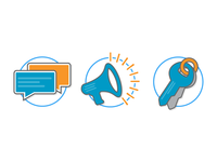 Account Center Icons