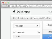 Apple Developer Facelift