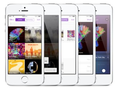 WIP Concert App