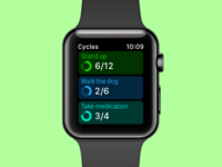 Cycles Watch App