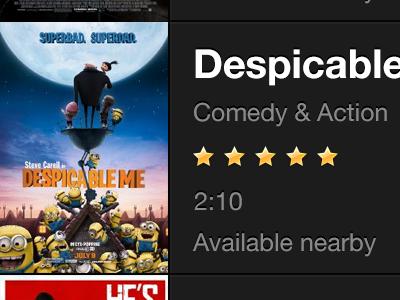 List of Movies