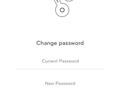 Assisting Screens screens ux ui application minimal assist change otp password forgot
