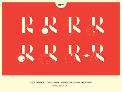 Segol Typeface Alternate R fashion typeface logo fonts