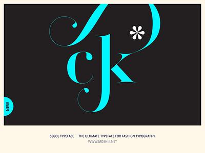 Segol Typeface - The Ultimate Typeface For Fashion Typography buy fonts ck ligature fashion logos