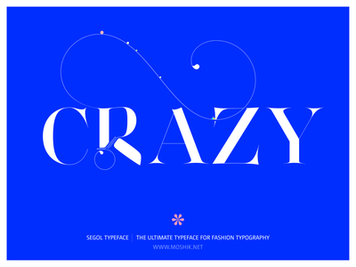 New Fashion Font. Segol Typeface. By Moshik Nadav Typography. fonts for logos must have fonts 2021
