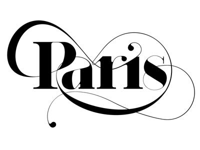 Paris typeface moshik nadav