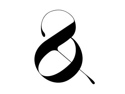 Playful ampersand   moshik nadav typography