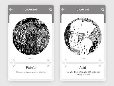 Drawning illustration drawn