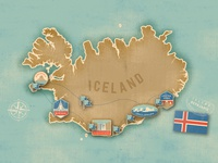 Discovery Photo Tours Icelandic Map