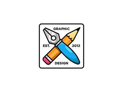 EST 2012 2012 charm keychain stickermule rebound art vector artwork design adobe illustrator flat graphic design icon vector illustration