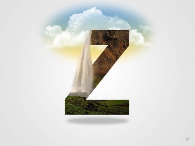 """36 Days Of Type Letter """"Z"""""""