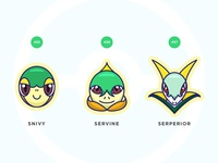 Pokemon Fifth Gen Starter