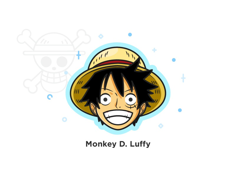 One Piece Monkey D Luffy By Boris Garic On Dribbble