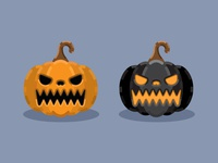 Halloween Jack-o'-lantern Icon