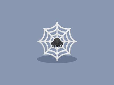Halloween Spider Web Icon