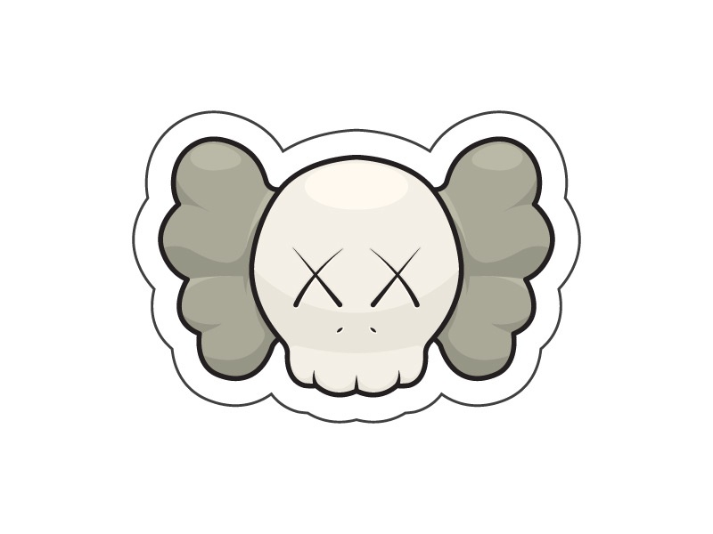 Kaws Stickers , Color 1 by Boris Garic🎨 on Dribbble