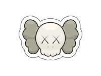 Kaws Stickers - Color 1