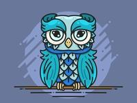 Owl Illustration 🦉