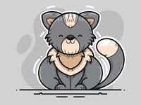 Same the Cat illustration