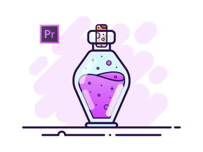 11 Potion Bottle - Adobe Premiere