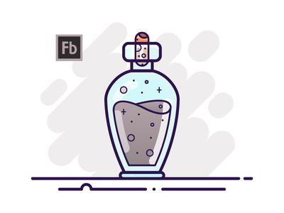 15 Potion Bottle - Adobe Flash Builder