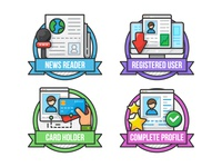 Omanoil App Badges - Set 1